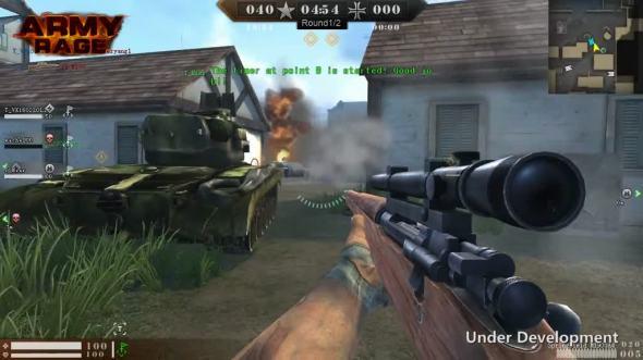 Army Rage משחק יריות לרשת בחינם