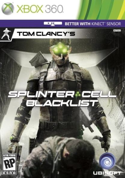 עטיפה למשחק Splinter Cell Blacklist