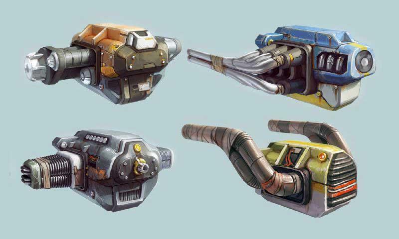 guns-and-robots