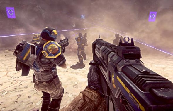 PlanetSide 2 משחק יריות חינמי ברשת
