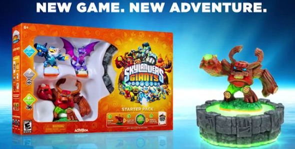 Skylanders Giants BOX