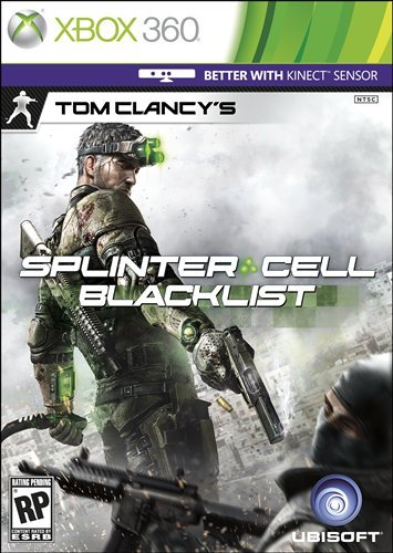 Tom Clancy's Splinter Cell Blacklist עטיפת משחק