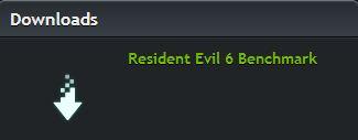 PC benchmark app for Resident Evil 6