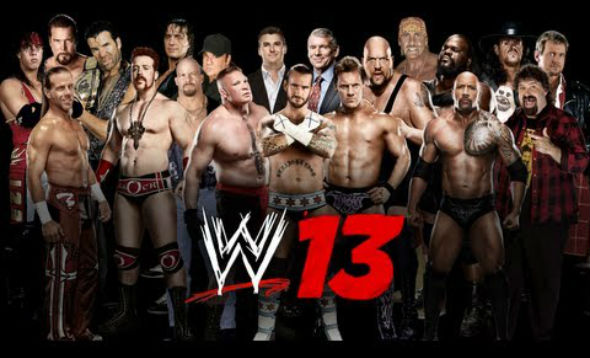 wwe-13-roster