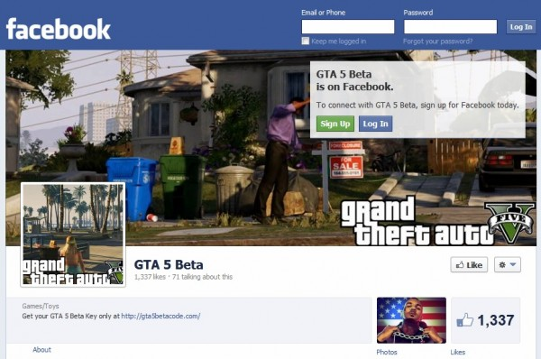 gta-5-beta-facebook-page