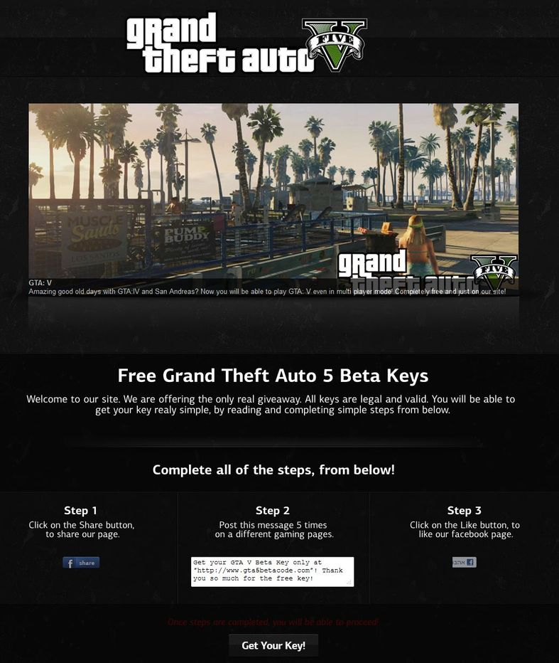 gta5betacode.com is a scam