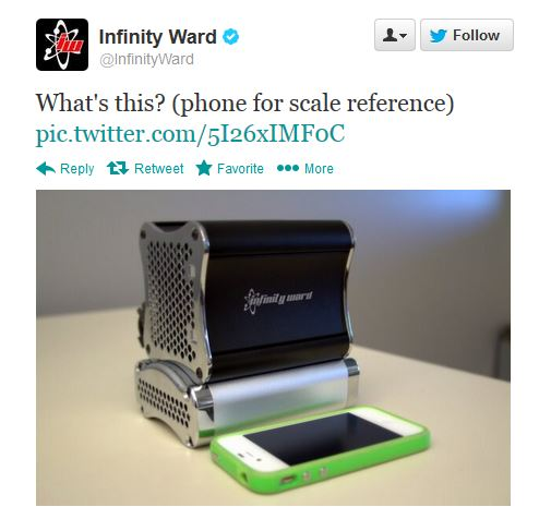 Infinity Ward STEAM BOX
