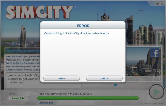 simcity serverS